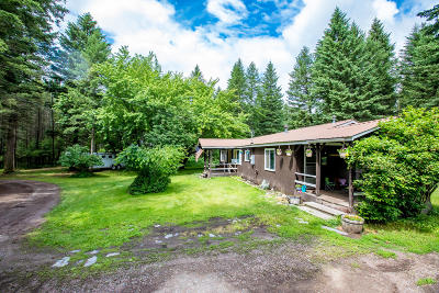 Columbia Falls Single Family Home Under Contract Taking Back-Up : 1189 Tamarack Lane