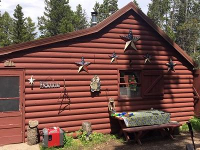 Augusta Single Family Home For Sale: Benchmark Crown Mountain Cabin
