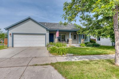 Missoula Single Family Home Under Contract Taking Back-Up : 2611 Sheffield Drive