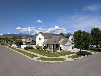 Missoula Single Family Home Under Contract Taking Back-Up : 4042 Chelsea Drive