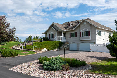 Kalispell Single Family Home Under Contract Taking Back-Up : 104 Rainbow Drive