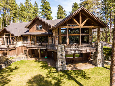 Flathead County Single Family Home For Sale: 78 Red Tail Ridge