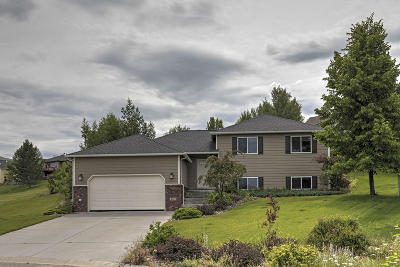 Missoula Single Family Home Under Contract Taking Back-Up : 4317 Nicole Court