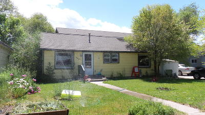 Missoula Single Family Home Under Contract Taking Back-Up : 2227 West Sussex Avenue