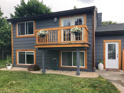 Missoula Single Family Home Under Contract Taking Back-Up : 2331 West Vista Drive