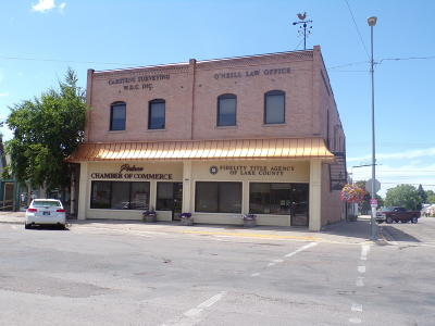 Polson Commercial For Sale: 402 1st Street East