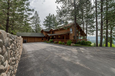 Darby Single Family Home For Sale: 594 Stags Leap Road