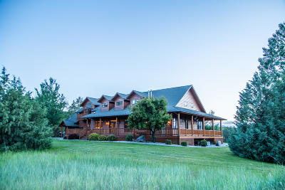 Stevensville Single Family Home For Sale: 1665 South Burnt Fork Road