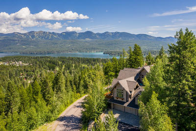 Flathead County Single Family Home For Sale: 701 Grouse Ridge Court