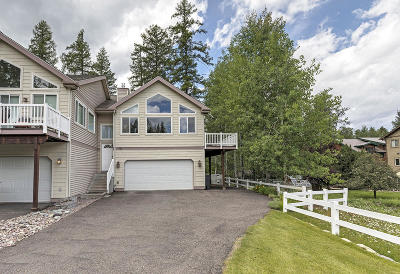 Flathead County Single Family Home Under Contract Taking Back-Up : 460 Golf Haven Drive