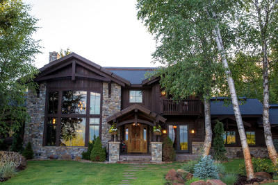 Whitefish MT Single Family Home For Sale: $2,900,000