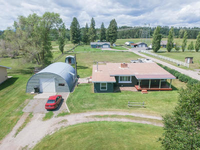 Kalispell Single Family Home For Sale: 1054 Trumble Creek Road