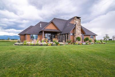 Flathead County Single Family Home For Sale: 216 & 242 Tango Fox Lane