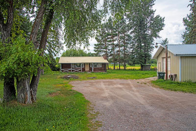 Kalispell Single Family Home For Sale: 1710 Mt Highway 35