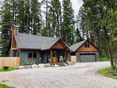 Flathead County Single Family Home For Sale: 23 Trumble Creek Loop