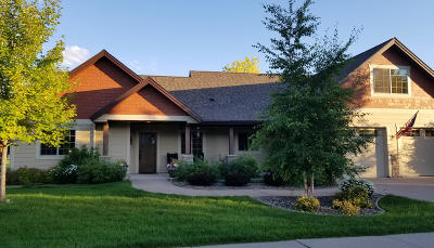 Kalispell MT Single Family Home Under Contract Taking Back-Up : $434,900