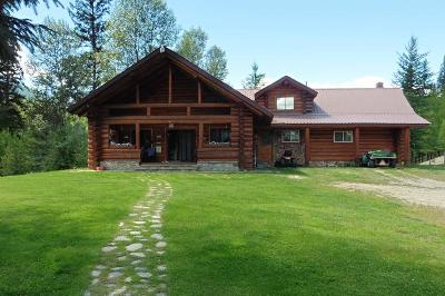 Lincoln County Single Family Home For Sale: 27390 Yaak River Road