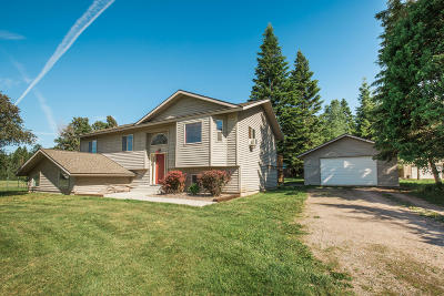 Flathead County Single Family Home For Sale: 135 Coyote Meadow Trail