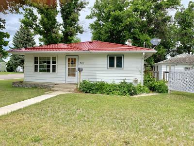Conrad Single Family Home For Sale: 319 2nd Avenue South West