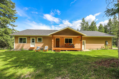 Kalispell Single Family Home Under Contract Taking Back-Up : 390 Mountain Meadow Road