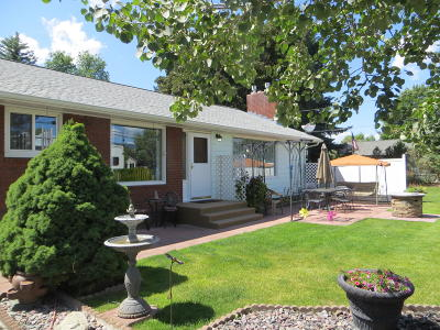 Missoula Single Family Home Under Contract Taking Back-Up : 241 South Curtis Street