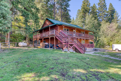 Darby Single Family Home For Sale: 499 Bunkhouse Road