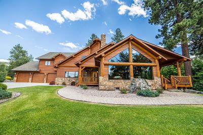 Stevensville Single Family Home For Sale: 1631 Middle Burnt Fork Road