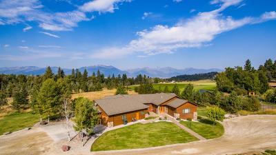 Stevensville Single Family Home For Sale: 1632 Middle Burnt Fork Road