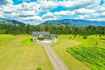 Flathead County Single Family Home For Sale: 33 Lone Juniper Lane