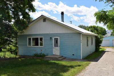 Saint Ignatius Single Family Home For Sale: 217 2nd Avenue