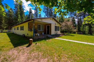 Thompson Falls Single Family Home For Sale: 22 North Sanders Loop Road