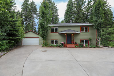 Flathead County Single Family Home For Sale: 1030 Bigfork Stage Road