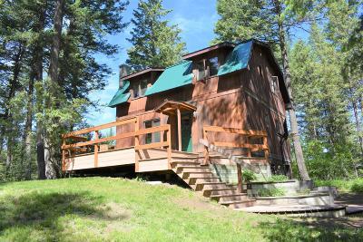 Bigfork Single Family Home Under Contract Taking Back-Up : 1388 Bigfork Stage Road