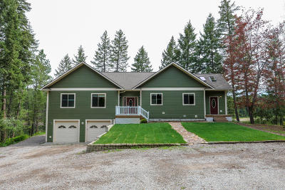 Flathead County Single Family Home For Sale: 165 & 171 Many Lakes Drive