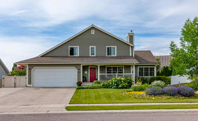 Kalispell Single Family Home Under Contract Taking Back-Up : 752 Parkway Drive