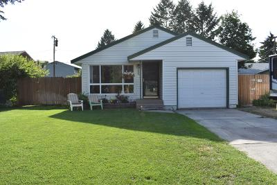 Missoula MT Single Family Home For Sale: $259,000