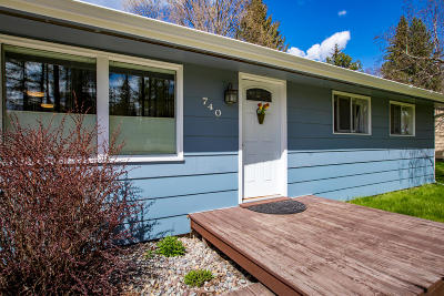 Whitefish Single Family Home For Sale: 740 3rd Street West