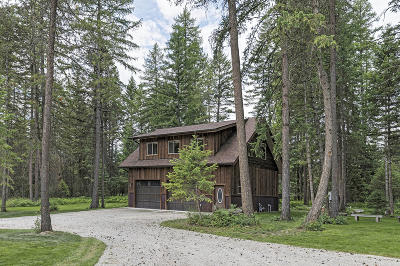 Columbia Falls Single Family Home Under Contract Taking Back-Up : 3872 Highway 40