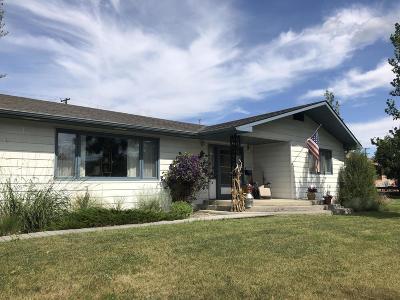 Fort Benton Single Family Home For Sale: 1206 St Charles Street
