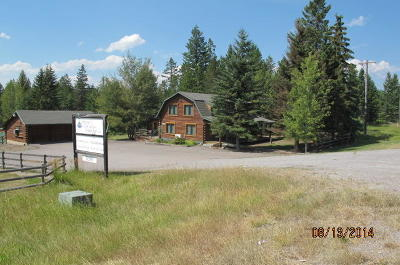 Whitefish Commercial Under Contract Taking Back-Up : 5098 Hwy 93 S