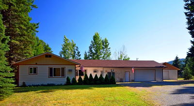 Bigfork Single Family Home For Sale: 30411 Mt Hwy 209