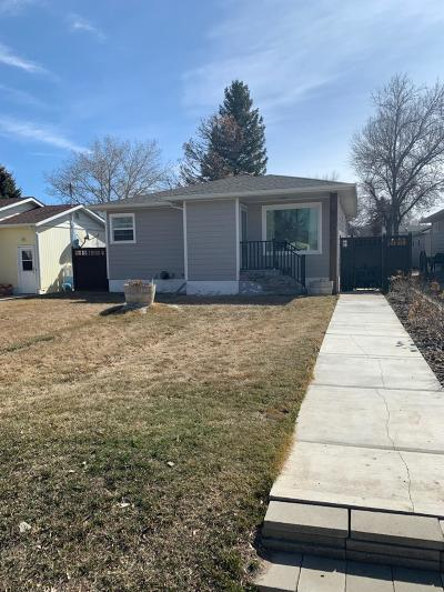 Conrad Single Family Home For Sale: 3 North Wisconsin Street