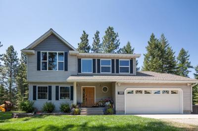 Columbia Falls Single Family Home For Sale: 490 Trapline Trail