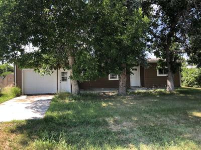 Choteau MT Single Family Home Under Contract Taking Back-Up : $85,000