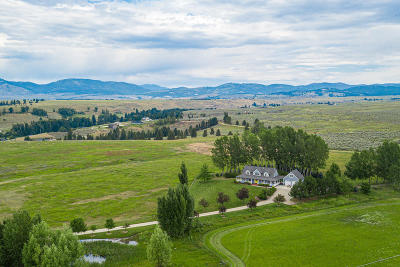 Ravalli County Single Family Home For Sale: 674 Stage Springs Lane