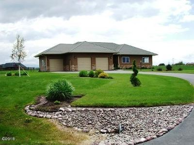 Kalispell Single Family Home For Sale: 12 Whitetail Meadows Road