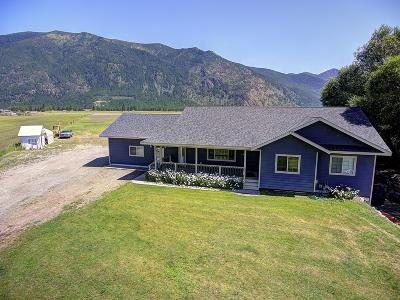 Flathead County Single Family Home For Sale: 3272 Montana Hwy 206