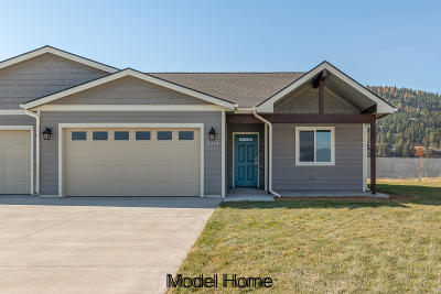 Kalispell Single Family Home Under Contract Taking Back-Up : 2303 Kismet Court