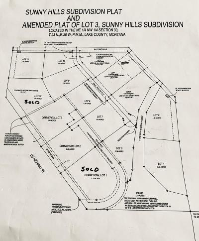 Polson Residential Lots & Land For Sale: Nhn-Lot 3 Solar Way