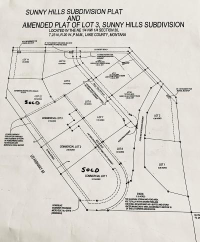 Polson Residential Lots & Land For Sale: Nhn-Lot 9 Issac Walton Way